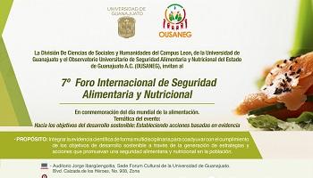 7° Foro Internacional de Seguridad Alimentaria y Nutricional