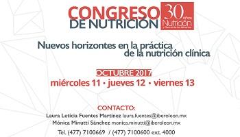 Congreso de Nutrición: Nuevos horizontes en la práctica de la nutrición clínica