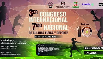 3er Congreso Internacional y 7° Nacional de Cultura Física y Deporte