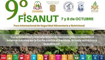 9° Foro Internacional de Seguridad Alimentaria y Nutricional